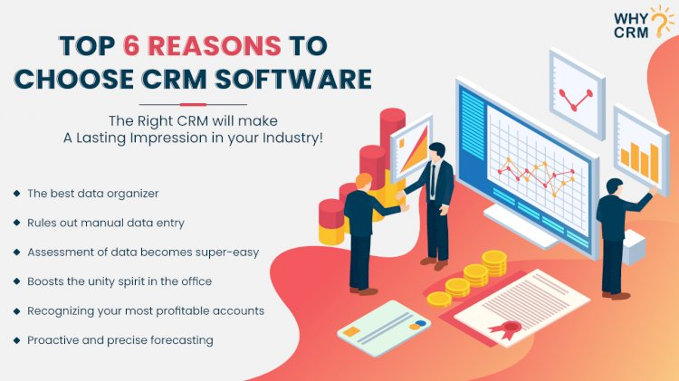 Top 6 Ways in Which CRM Propels Your Business to Succeed